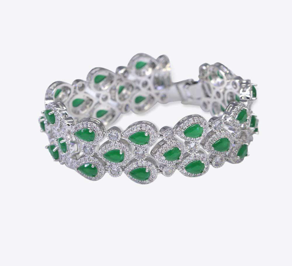 Green Stones Women Bracelet Online in Pakistan