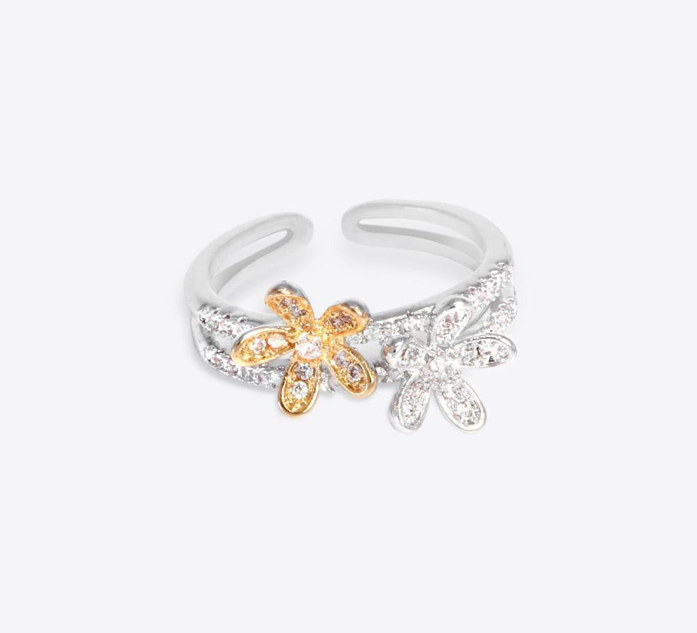 Royal Floral Adjustable Bracelet - MB-3034 - Mahroze