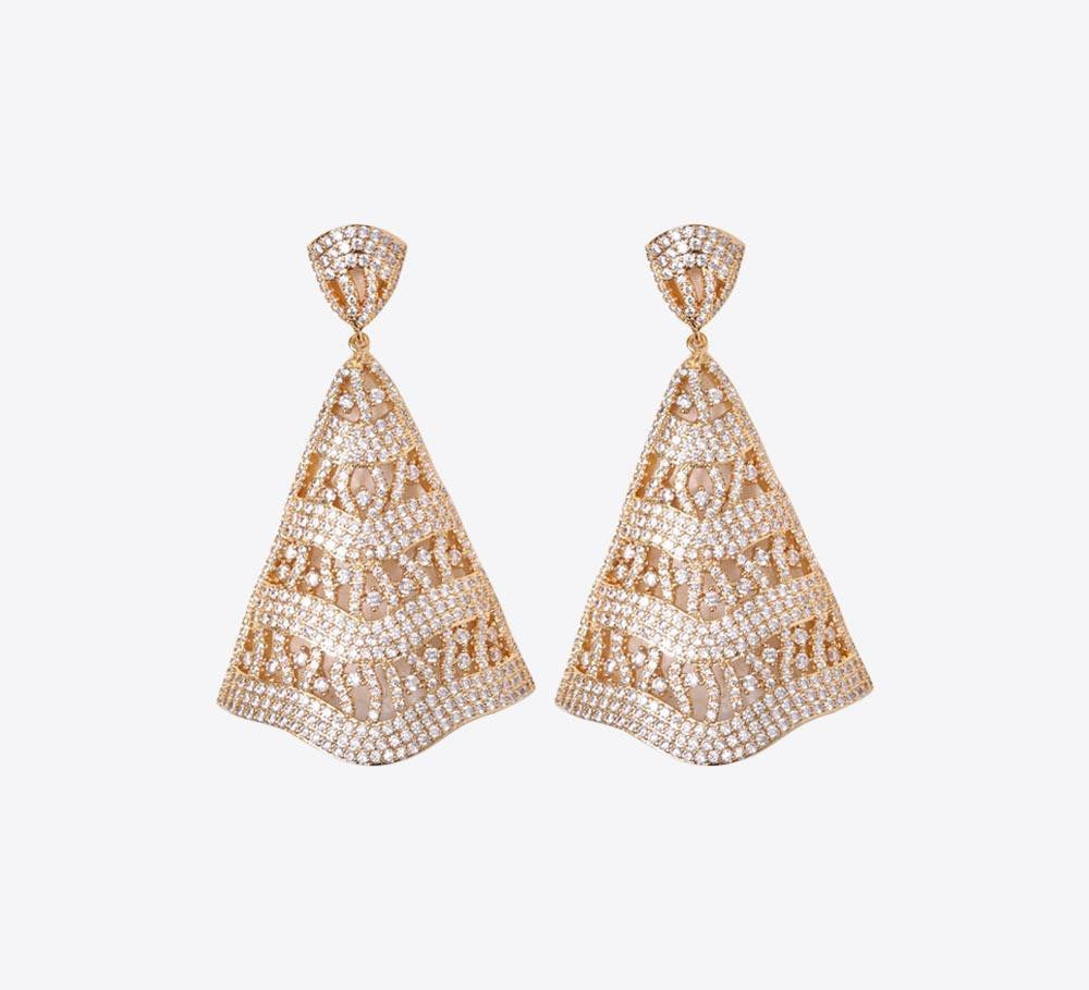 Buy Golden and Silver Women Earring Online in Pakistan