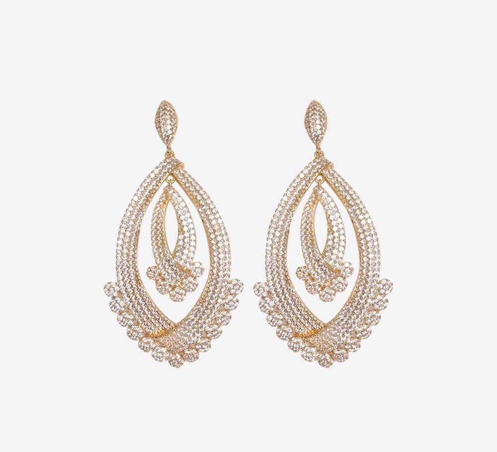 Buy Women Golden Earring Online in Pakistan