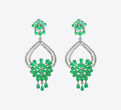 Buy Women Green Earring Online in Pakistan