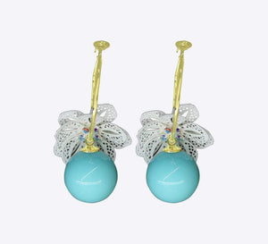 Aqua Beau Drop Earring - ME-2172