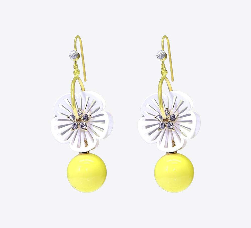 Xanthous Gold Drop Earring - ME-2221