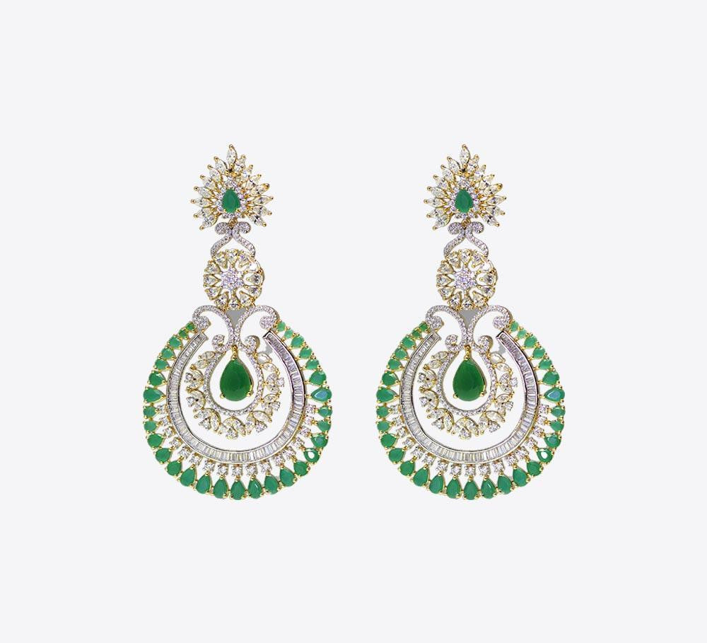 Green Women Earring Online in Pakistan