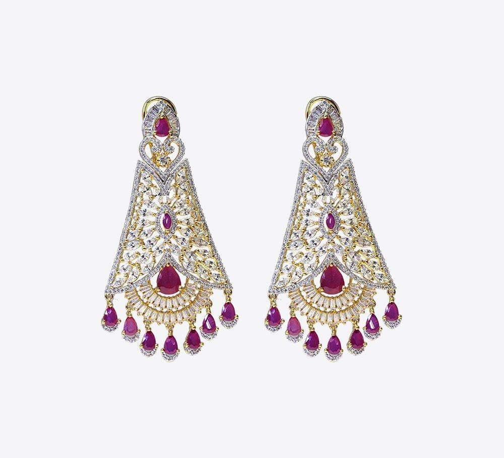 Buy Stones Women Earring Online in Pakistan