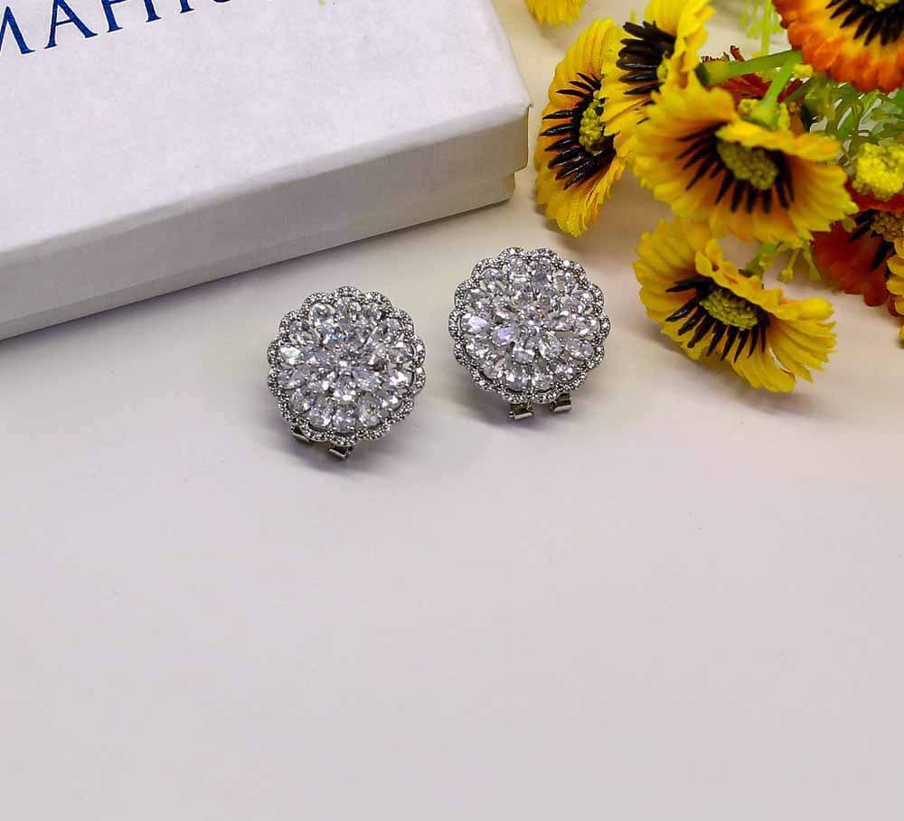 Buy Women Silver Earrings Online in Pakistan