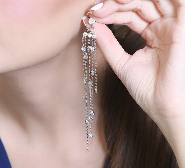Chained Drop Earring