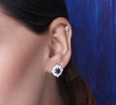 Haze Royal Sterling Silver Stud