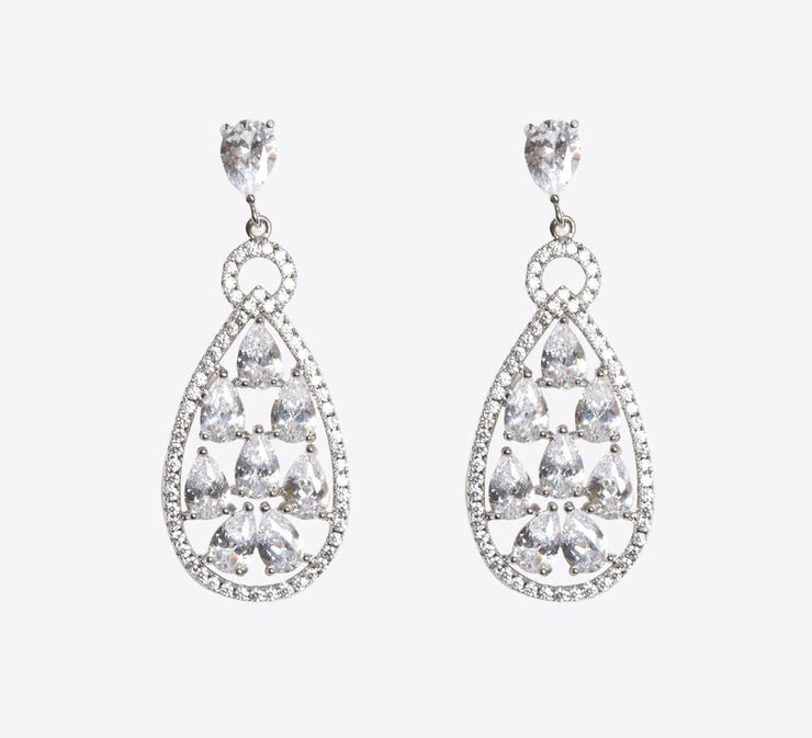 Buy Women Silver Earring Online in Pakistan