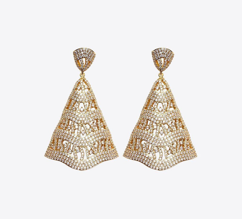 Buy Rose Gold and Golden Earring Online in Pakistan