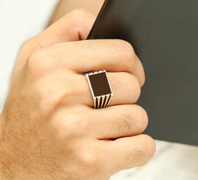 Buy Sterling Silver Men Ring Online In Pakistan