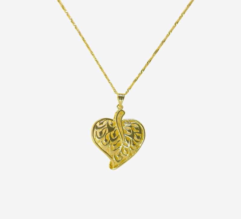 Betel in Gold Pendant Women Pendant Online in Pakistan