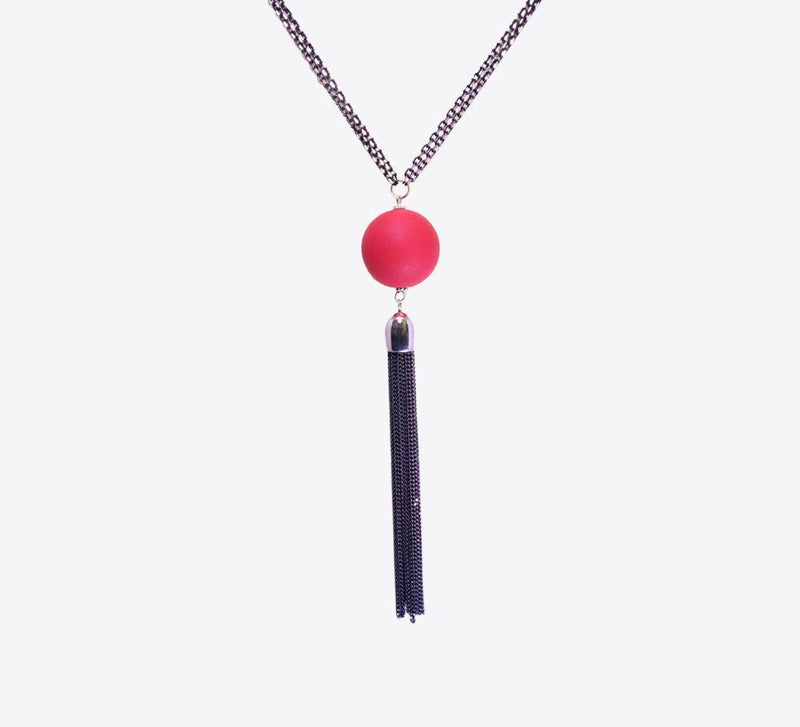 Buy Red Ball Women Pendant Online In Pakistan