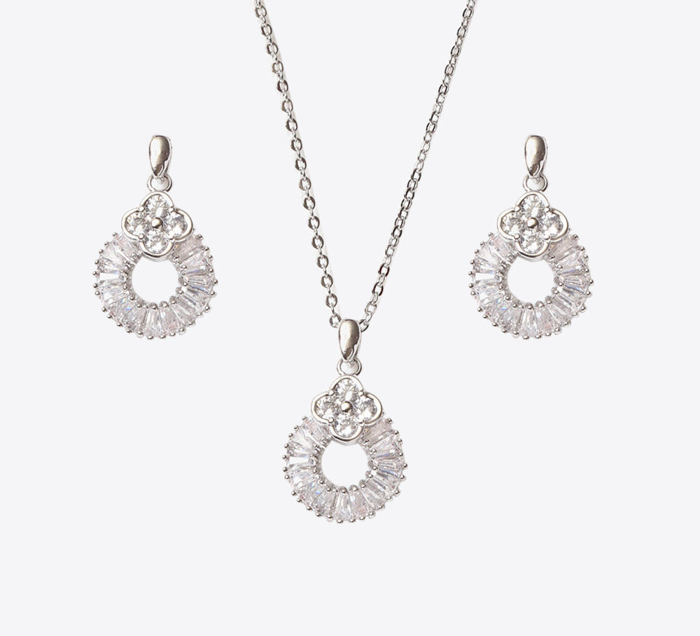 Silver Pendant Sets Online In Pakistan