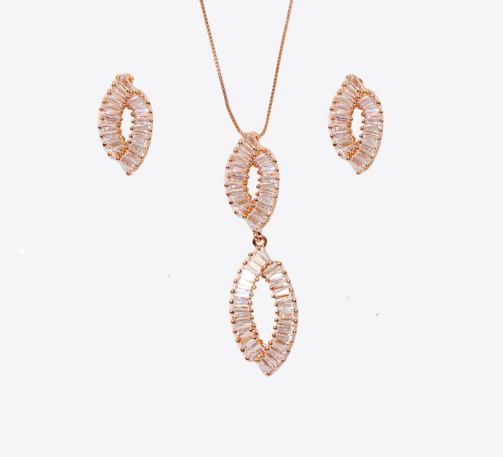 Buy Rose Gold Women Pendant Online In Pakistan