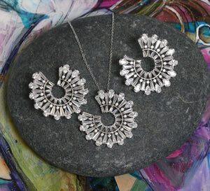 Buy Silver Sea Shells Women Pendant Sets Online In Pakistan