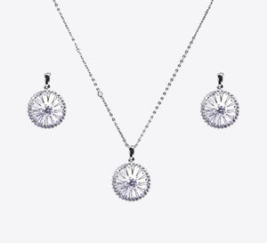 Wheels Of Beads Pendant Set - MPS-6035