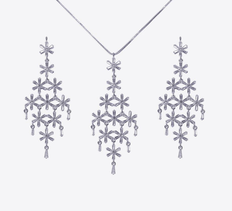 Winter Love Pendant Set - MPS-6039