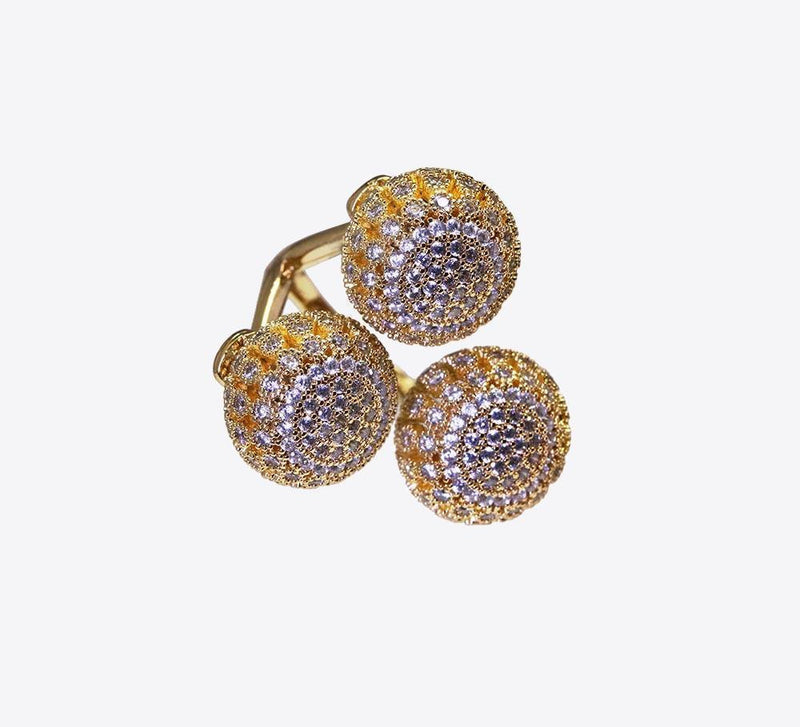 Buy Golden Cocktail Women Rings Online In Pakistan