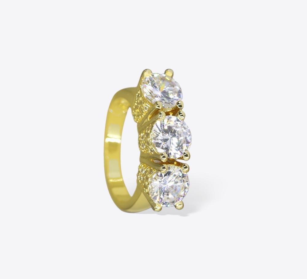 Buy Elegant Golden Women Rings Online In Pakistan