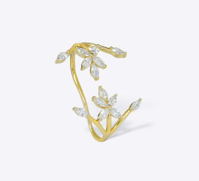 Buy Scattered Leaf Women Rings Online In Pakistan