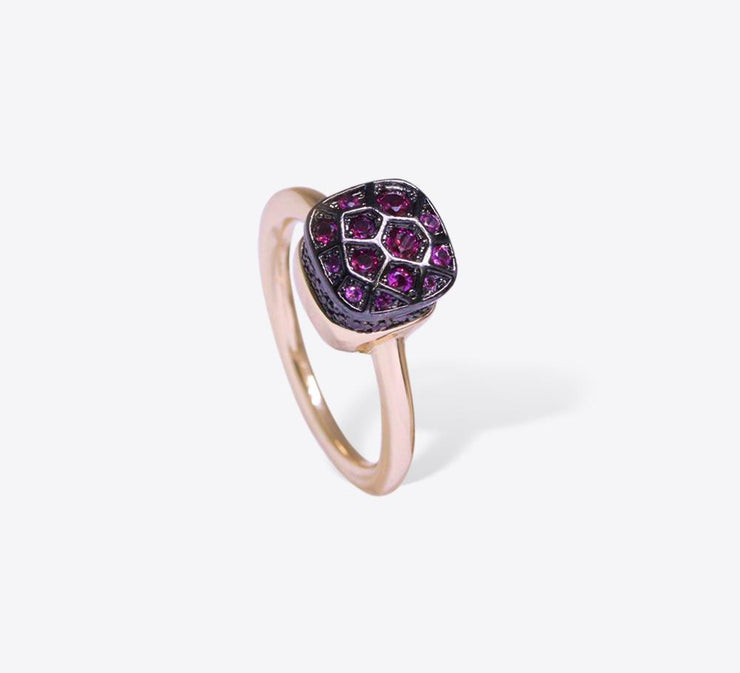 Buy Women Pink Honey Comb Rings Online In Pakistan