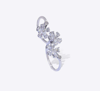 Buy Floral Two Finger Rings Online In Pakistan