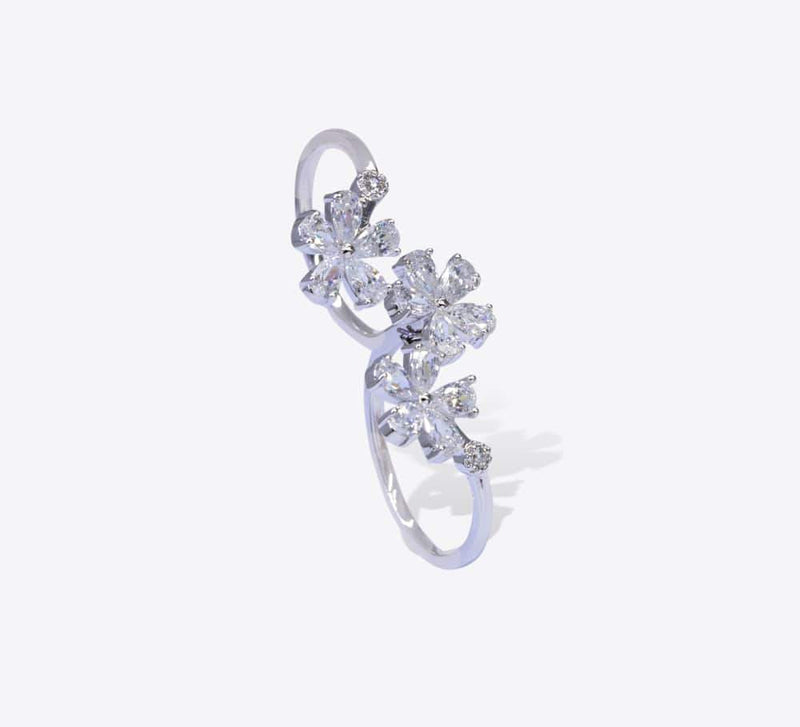 Double Finger Ring : MR-1228