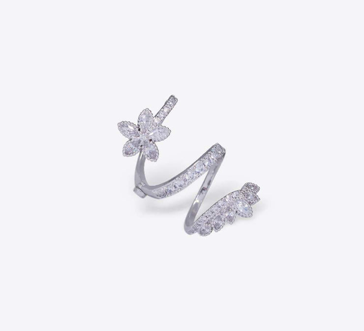 Buy Spiral Flower Rings Online In Pakistan
