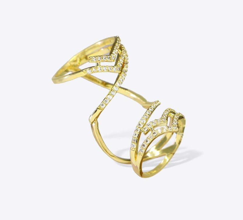 Buy Golden Adjustable Women Rings Online In Pakistan