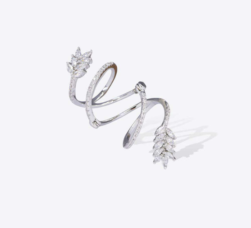 Pave Ring : MR-1247 - Mahroze