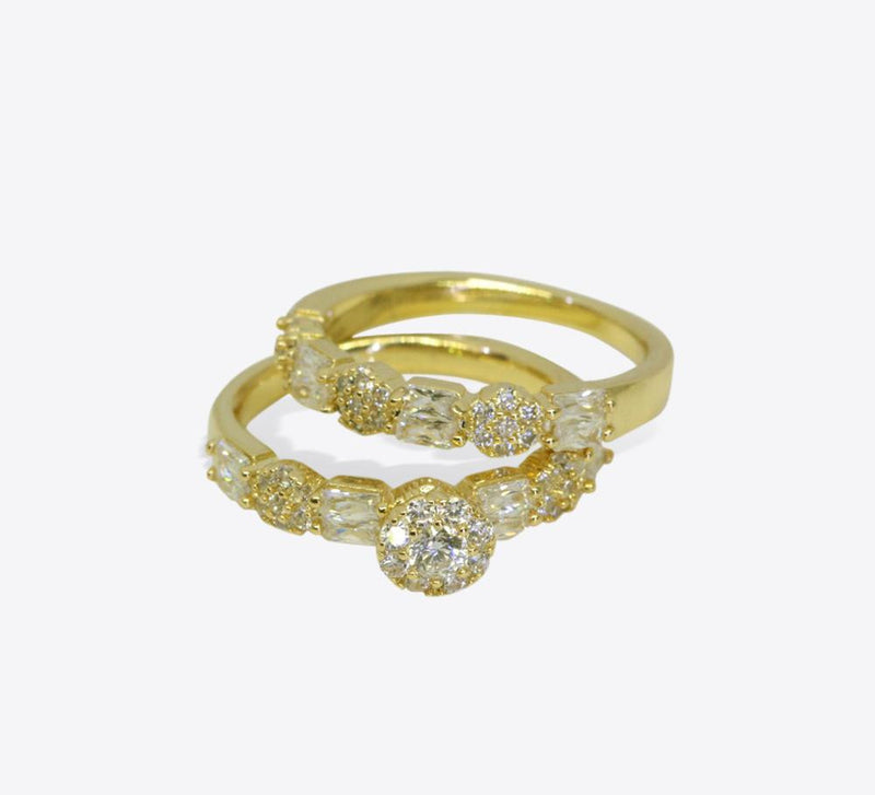 Buy Golden Couple Rings Online In Pakistan