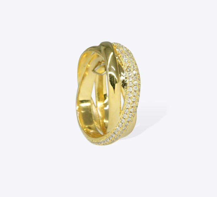 Buy Golden Women Rings Online In Pakistan