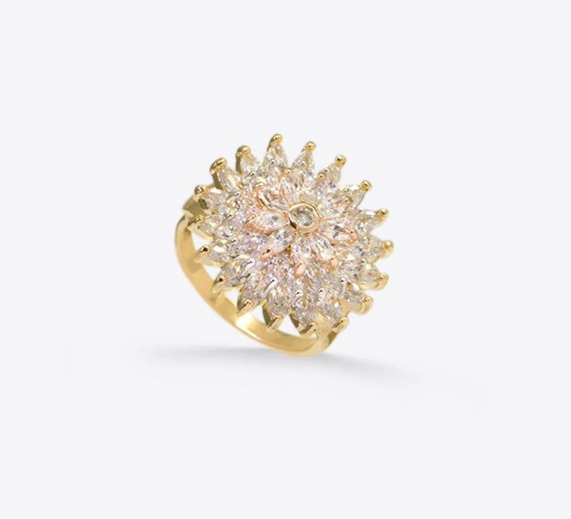 Buy Sunflower Women Rings Online In Pakistan