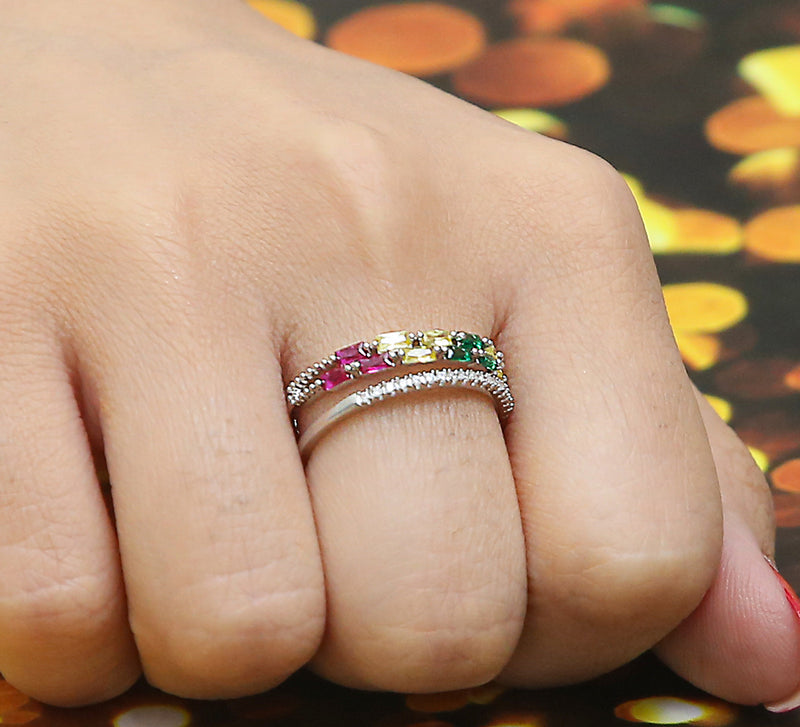 Top of Line Pave Ring