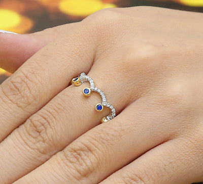 Royal Princess Pave Ring