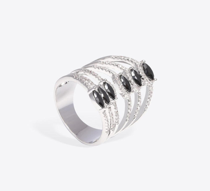 Cocktail Rings, Trendy Design Cocktail Rings Online - Mahroze