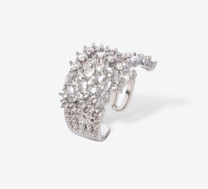 Pave Rings, Stylish Pave Rings for Woman Onine - Mahroze