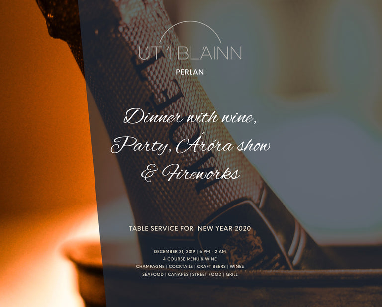 New years Eve Party 2019 - Perlan Restaurant - Table service