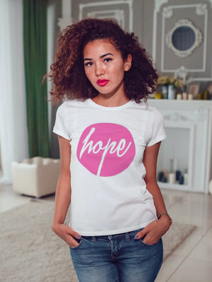 HOPE T-SHIRT - Gray's Active Wear Printing