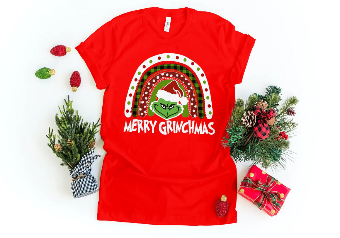 GRINCH MERRY GRINCHMAS T-SHIRT