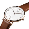 ZENN Classique Brown Rose Gold Watch
