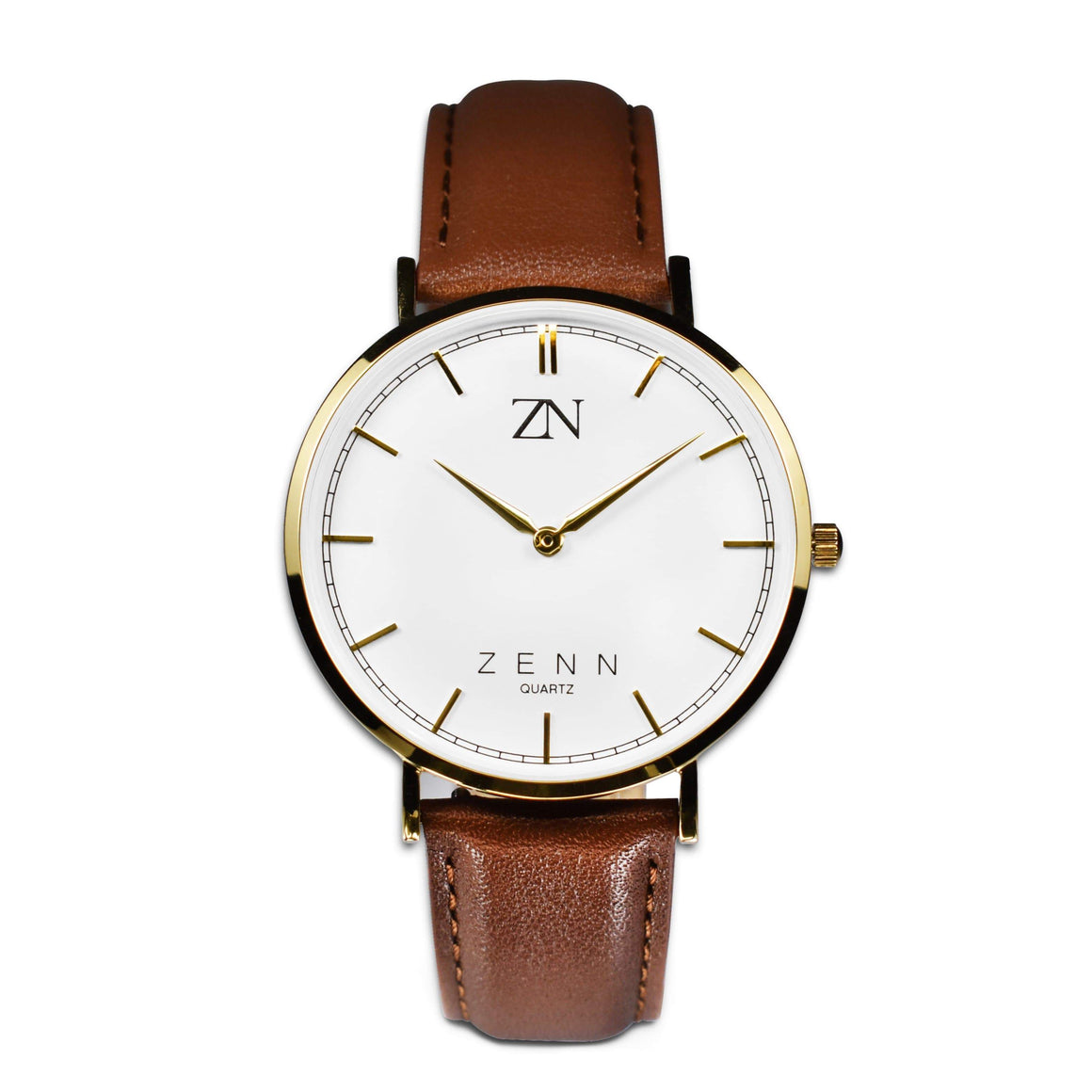 ZENN Classique Brown Gold Watch
