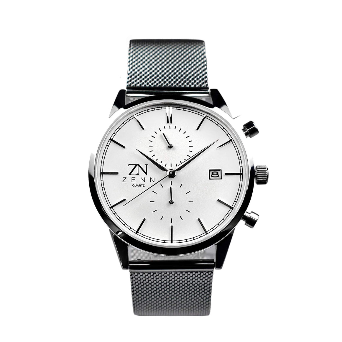 ZENN Stealth Silver Watch