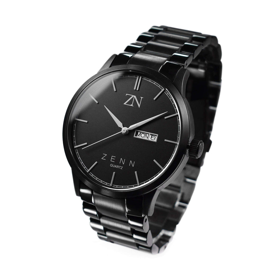 ZENN Argenti Mens Black Watch