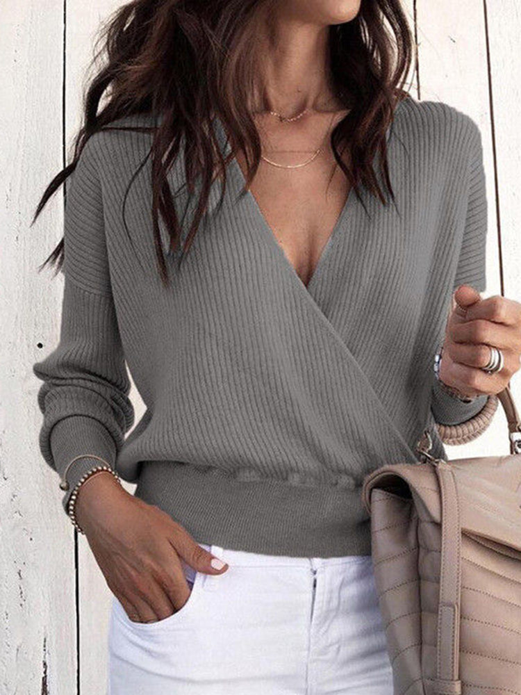 Vintage Knitted Long Sleeve Sweater