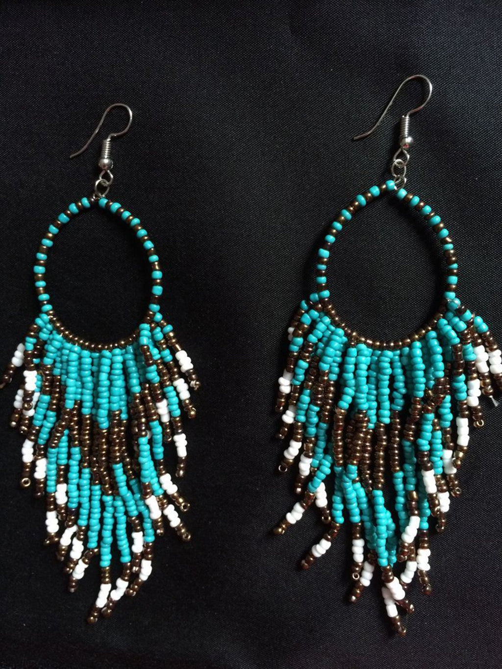 Fashion Bohemian Tassel Pendant Earrings Ear Jewelry