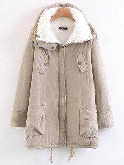 Woman's Winter Coat Thickening Cotton Jacket Outwear