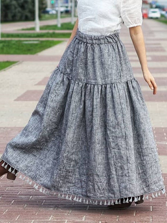 Cotton Vintage Skirt