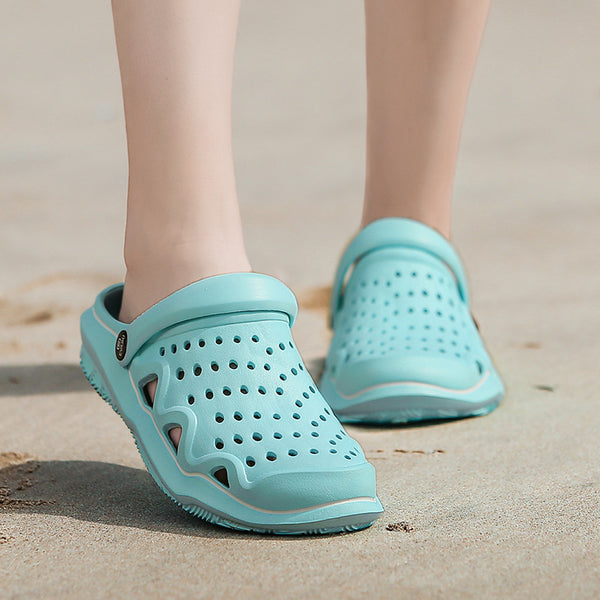 Women Unisex Beach Flat Heel Summer Casual Wading Shoes